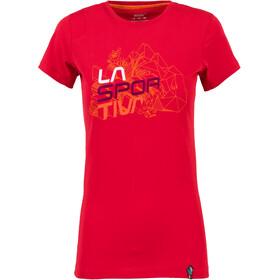 La Sportiva Cubic T-shirt Dame garnet
